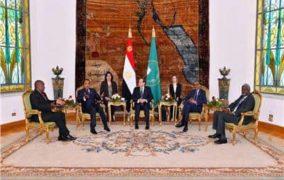 قمة الترويكا تطالب المجتمع الدولي بتحمل مسؤوليته لوقف عمليات تهريب السلاح والمقاتلين والإرهابيين إلى ليبيا