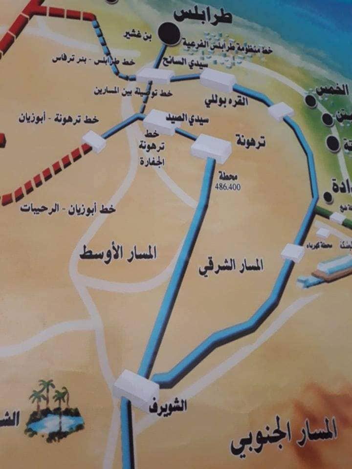 وصول المياه إلى مدينة طرابلس والمناطق المجاورة لها بشكل تدريجي 61114714_440021376561778_613829342895538176_n
